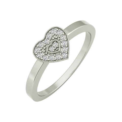 Valentina sterling silver engagement ring - EJ Cole - Azarai Jewelry |  Abuja | Lagos | Nigeria