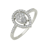 Lara sterling silver engagement ring - EJ Cole - Azarai - 1
