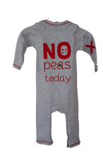 Afbeelding in Gallery-weergave laden, Qtie rompasuit no peas today