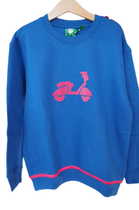 Qtie sweater scooter