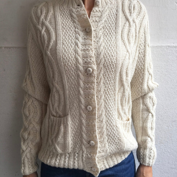 Alpaca cardigan virgin