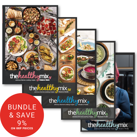 The Healthy Mix Cookbook Collection (I, II, III, IV and V)