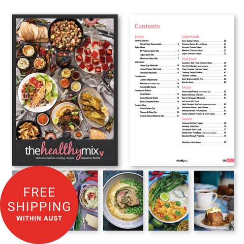 The Healthy Mix V Cookbook