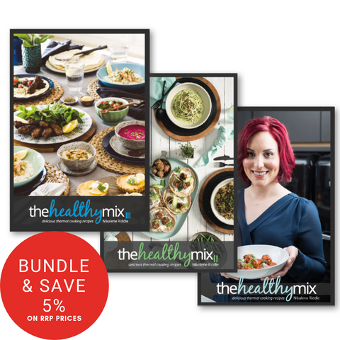 The Healthy Mix Cookbook Collection (I, II and III)