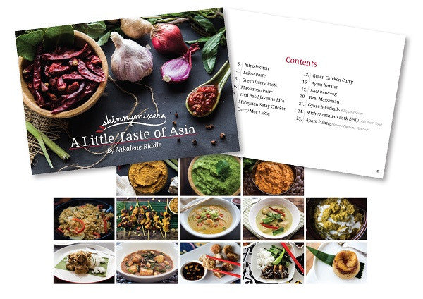 A Little Taste of Asia Print Book + Free e-book