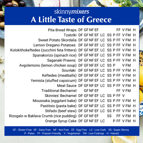 A Little Taste of Greece Cookbook
