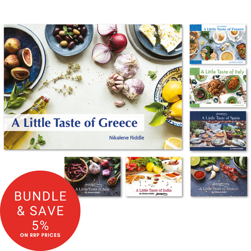 A Little Taste of Cookbook Collection (Asia, France, Greece, India, Italy, Mexico and Spain) e-Books