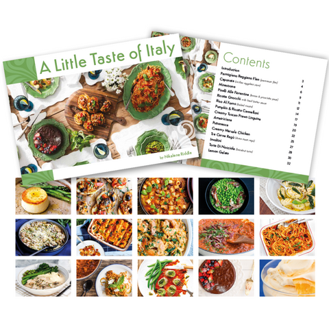 A Little Taste of Italy Cookbook