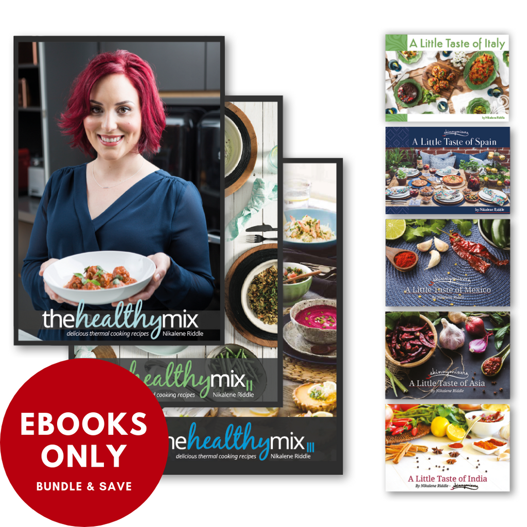 Mega Bundle - All 8 Cookbooks (eBooks only)