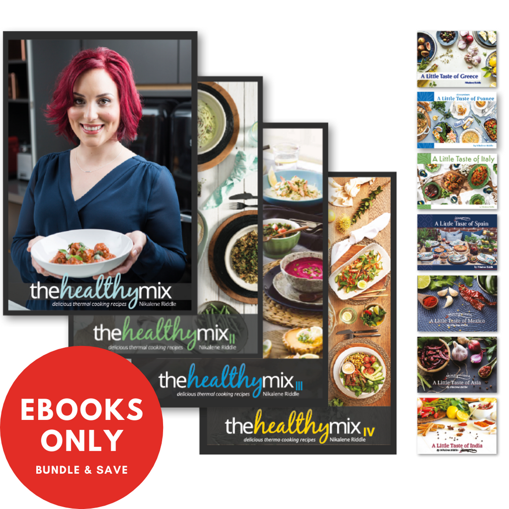 Complete Collection - All 11 Cookbooks e-Books