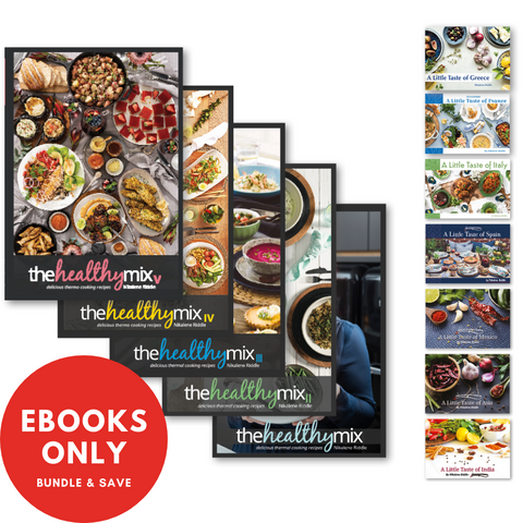 Complete Collection - All 12 Cookbooks e-Books