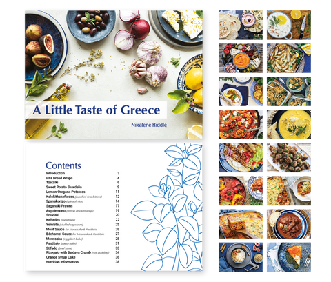 A Little Taste of Greece e-Book