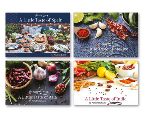 Skinnymixers 'A Little Taste of' 4 Cookbook Collection