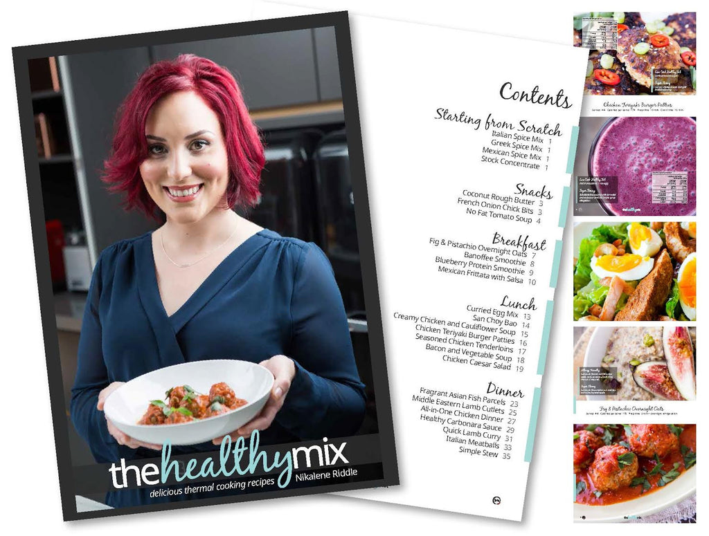 The Healthy Mix Print Book + Free e-book