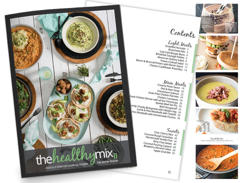 The Healthy Mix II Print Book + Free e-book