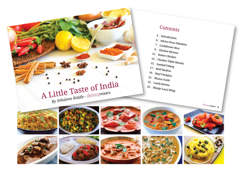 A Little Taste of India Print Book + Free e-book