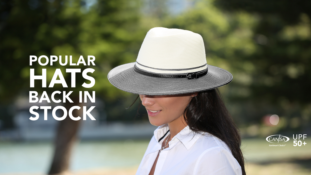 Popular Sunhats Back in Stock