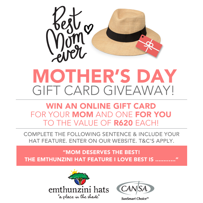 Win Gift Cards in 2017 Mothers Day Hat Competition
