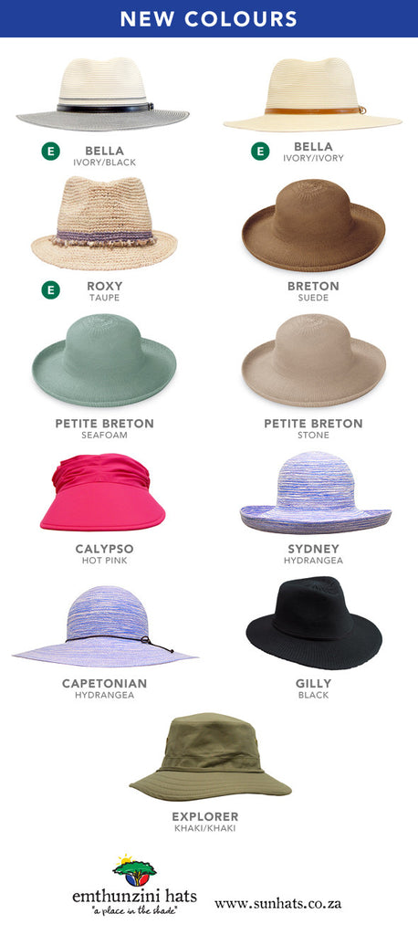 2017 New Sunhat Colours
