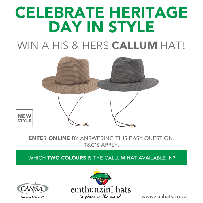 Emthunzini Hat Heritage Day Compeition