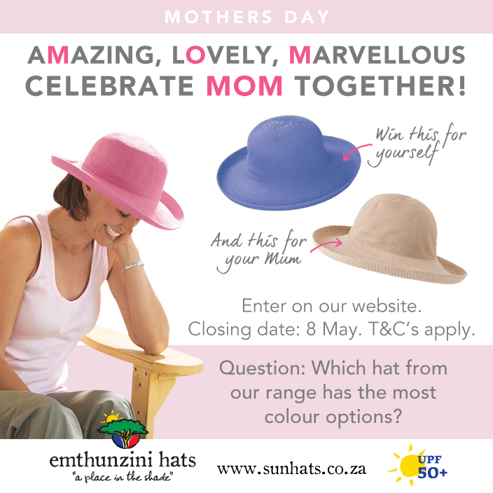 Emthunzini Hat's Mothers Day Competition