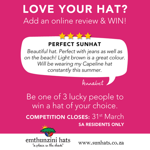 Love your Hat? Write a hat review
