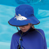 Blue Shark Bite Emthunzini Hat