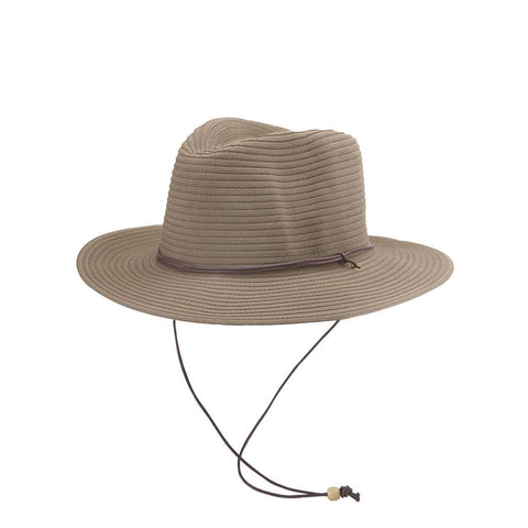 Brown Check Callum Emthunzini Hat