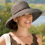 Ribbon Braid Breton UPF50+ Fabric Sun Hat