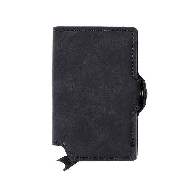 EaziCard RFID Wallet - PU Leather Vintage Pattern