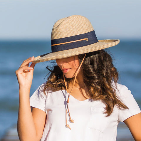 Tina M Eden Flexibraid Designer Beach Hat