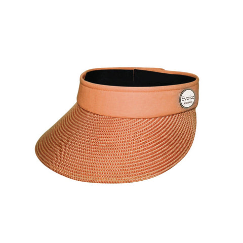 Orange Morgan Visor Emthunzini Hat