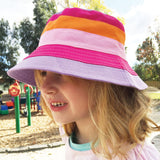 Charlie Children's Sun Hat On Model