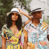 Travel-friendly Packable Emthunzini Sun Hat