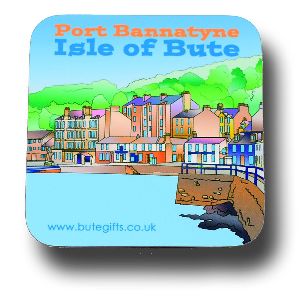 Port Bannatyne Coaster