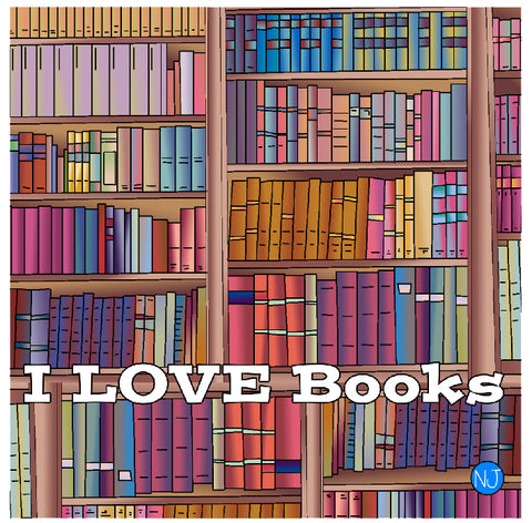 I love Books Blanket