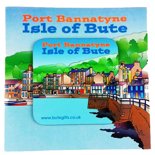 Port Bannatyne - Coaster Card
