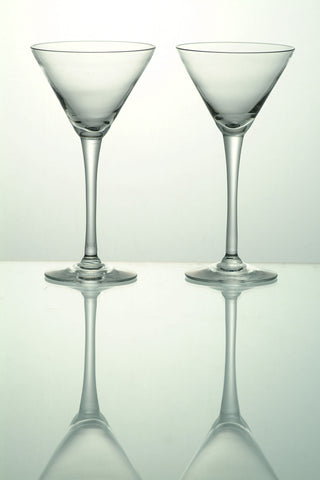 Martini Glasses Clear