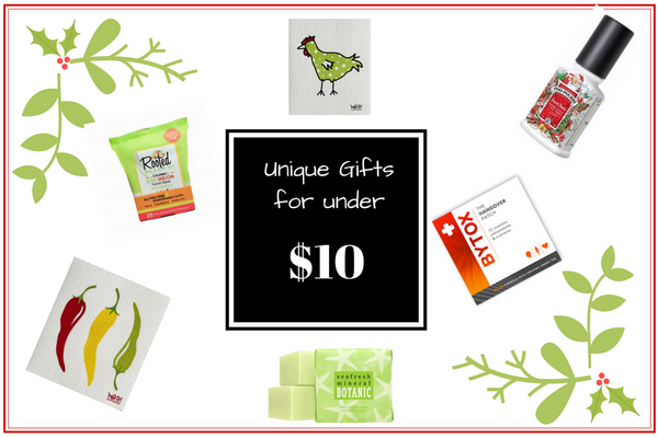 Gifts for under $10