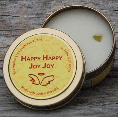 Shop for JOY - Talia Castellano Happy Happy Joy Joy Candle