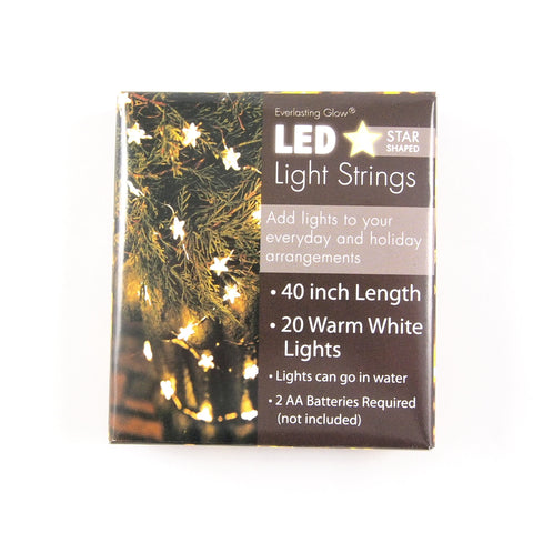 Everlasting Glow Star-Shaped Fairy Lights - Waterproof
