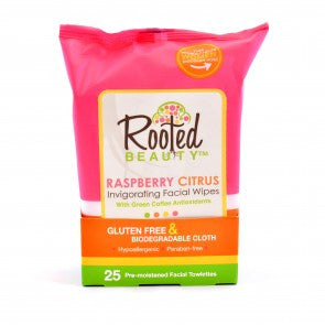 Rooted Beauty Facial Wipes