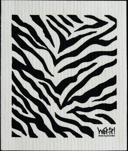 Shop for JOY - Talia Castellano Eco Friendly Zebra Wet-It Cloth