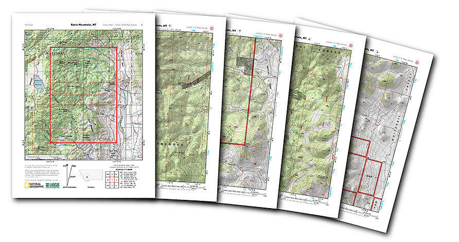 Nat Geo Provides FREE USGS Topo Maps