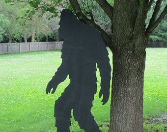 An image of what the Bigfoot cutout may resemble