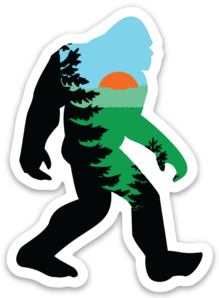 Mountain Squatch Sticker