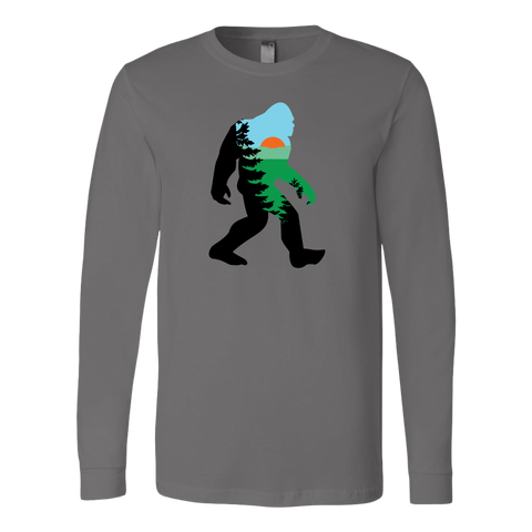 Mountain Squatch - Long Sleeve T-Shirt