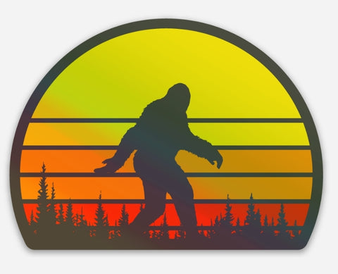 Holographic Setting Sun Squatch