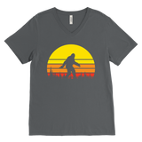 Setting Sun Squatch - V-Neck