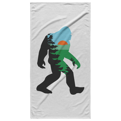 Mountain Squatch Beach Towel